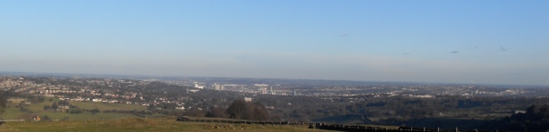 View of Sheffield From Fulwood Lane