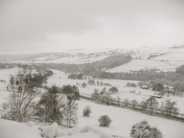 Rivelin Valley in the snow